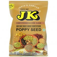 JK Poppy Seeds - Rich in Calcium & Potassium, Used in Thandai, Curries, Curry-Bases & Sweets