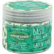 Wingreens Farms Basil Leaves With Green Tea