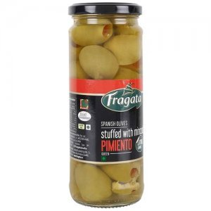 Fragata Olives - Spanish Green Stuffed With Minced Pimiento kings
