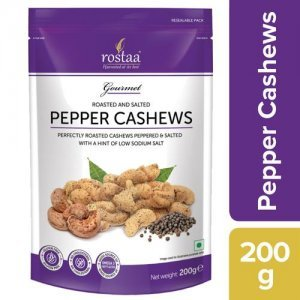 Rostaa Cashew - Pepper Roasted & Salted