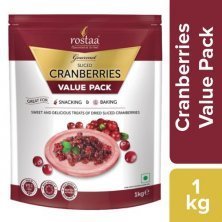 Rostaa Cranberry - Dried, Sliced