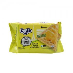 Gery Gone Mad Crackers - Cheese & Sugar