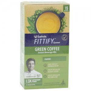Saffola FITTIFY Gourmet Green Coffee Instant Beverage Mix - Classic
