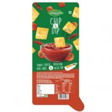 Wingreens Farms Chip & Dip - Tangy Cheese Pita Chips & Mexican Salsa Dip