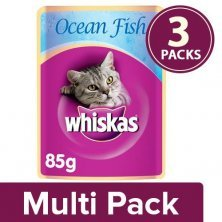 Whiskas Wet cat Food - Ocean Fish for Adult cats, +1 year