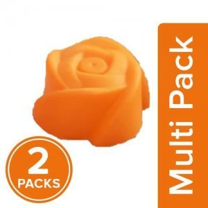 HAZEL Silicone Rose Shape Muffin Mould - Assorted Colour