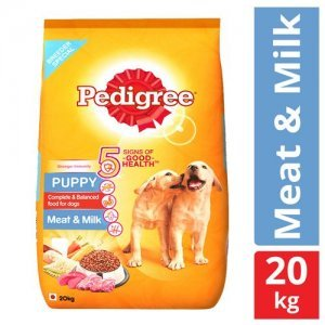 Pedigree Dry Dog Food - Meat & Milk, For Puppy