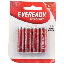 Eveready Carbon Zinc Battery Red AA 1015