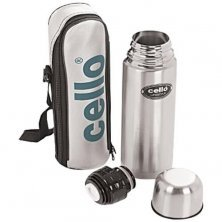Cello Lifestyle Stainless Steel Flask