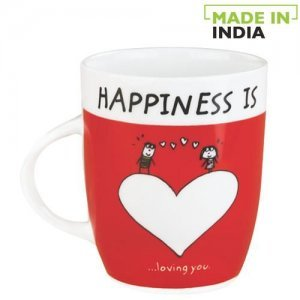 Claycraft Orchid Coffee/Milk Mug - Happiness Is Loving You