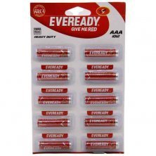 Eveready Carbon Zinc Battery Red HD AAA 1012