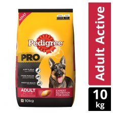 Pedigree Dry Dog Food - PRO, Expert Nutrition for Active Adult Dogs, 18 months onwards