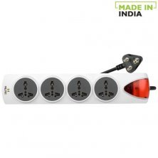 Milltec 4 Socket Power Strip/Cord With 2 Meter Wire 1079