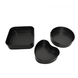DP Cake-Chocolate Moulds - Metal, Small, Grey, 1012 GRY