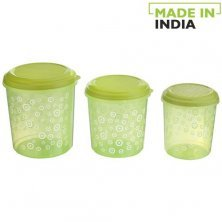 Asian Stylo Food Plastic Container Printed - Green