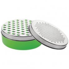 Anjali Halwa Grater With Container - Green