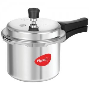 Pigeon Aluminium Pressure Cooker With Outer Lid - Favourite