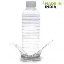 Home Leo Plastic Pet Water Bottle - White Wide Mouth