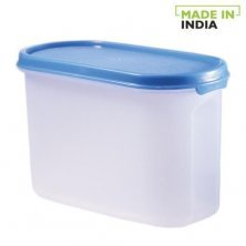 Polyset Magic Seal Oval Storage Plastic Container - Royal Blue