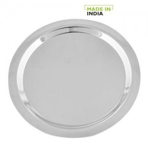 Home Steel Lid/Cover For Utensils, Kadai & Tope - No.14