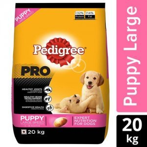 Pedigree Pro Expert Nutrition Large Breed Puppy (3-18 Months) Dry Dog Food