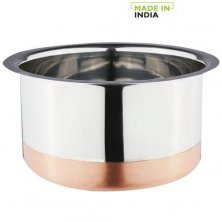 Home Steel Patila With Copper Bottom - No.14