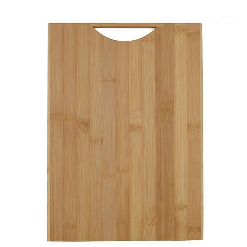 Home Chopping Board With Handle - Bamboo Wood, BH 103