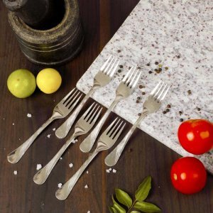 Home Steel Fork - Medium, Classic Tides Series, BBCL18