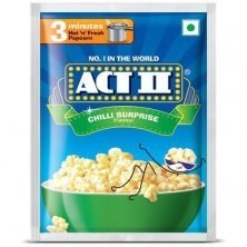 ACT II Instant Popcorn - Chilly Surprise