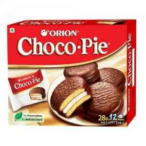 Orion Choco Pie - Chocolate Coated Soft Biscuit