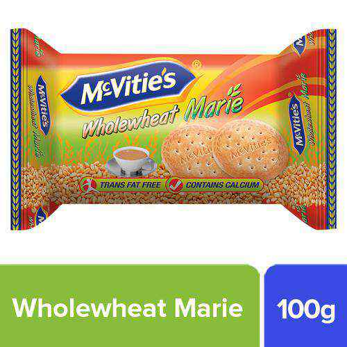 Mcvities Marie Biscuits - Whole wheat