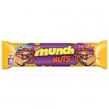 Nestle Munch Nuts Chocolate Coated Crunchy Wafer Bar