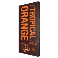 Amul Tropical Orange- Dark Chocolate Infused With Orange Extracts From Netherlands