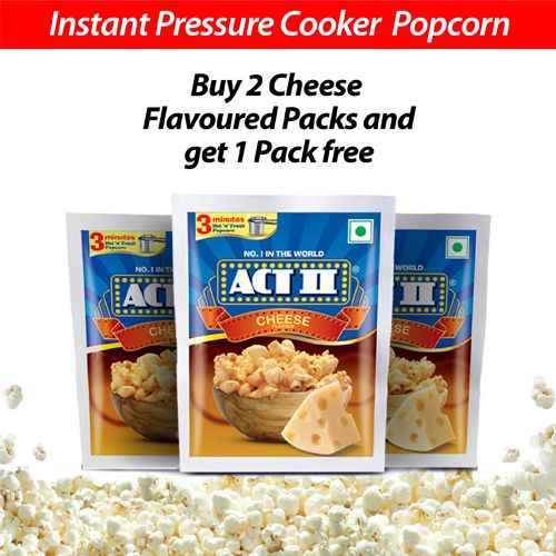 ACT II Instant Popcorn Value Pack - Cheese