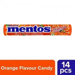 Mentos Orange Chewy Dragees
