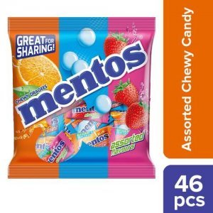 Mentos Rainbow Assorted Flavour Chewy Candy