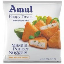 Amul Happy Treats Ready to Cook & Serve - Masala Paneer Nuggets
