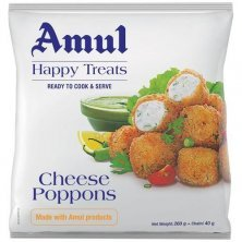 Amul Happy Treats Ready to Cook & Serve - Cheese Poppons