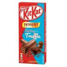 Nestle Kitkat Dessert Delight Tempting Truffle Wafer Coated With Milk Chocolate Tablets