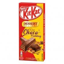 Nestle Kitkat Dessert Delight Divine Choco Pudding Wafer Coated With Milk Chocolate Tablets