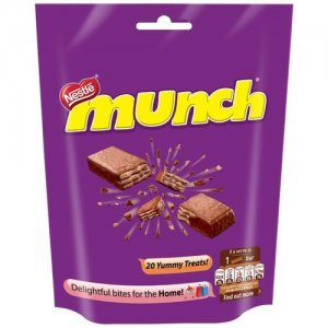 Nestle Munch Chocolate Coated Crunchy Wafer - Share Pack