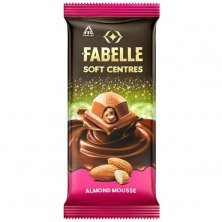 Fabelle Soft Centres Chocolate - Almond Mousse