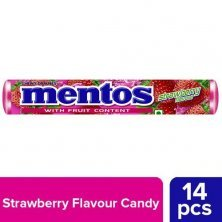 Mentos Chewy Candy Stick - Strawberry Flavour