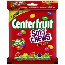 Center Fruit Soft Chews Candy - Assorted Flavour