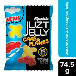 ALPENLIEBE Juzt Jelly - Assorted Flavour, Cars & Planes