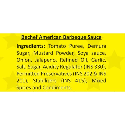 Bechef American Barbeque Sauce