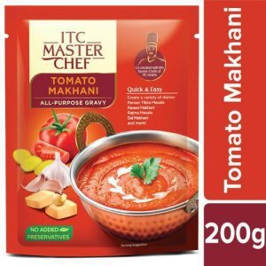 ITC Master Chef All-Purpose Gravy - Tomato Makhani, Easy and Quick, Pre-Cooked Indian Gravy, No Preservatives